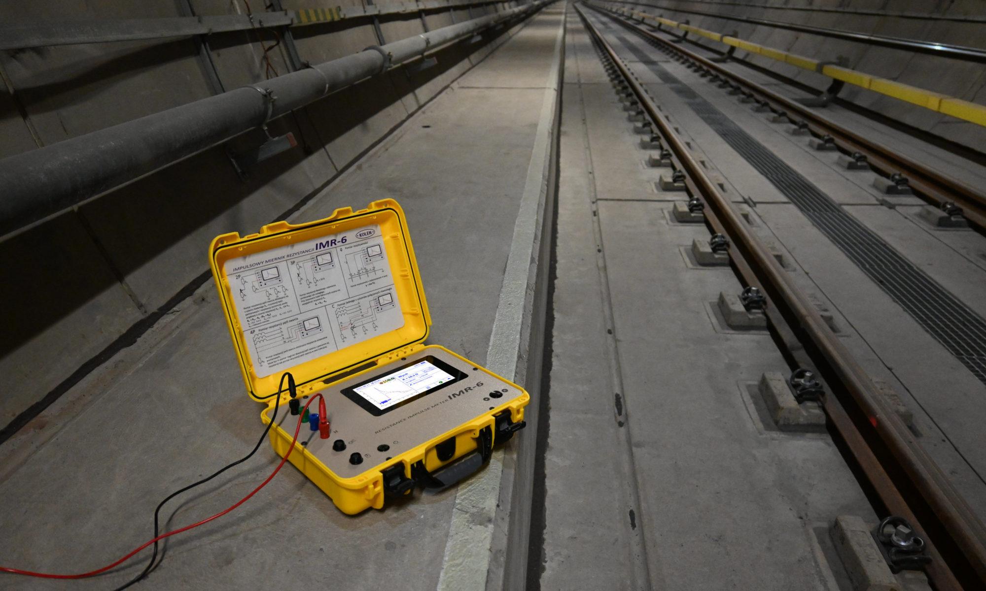 IMR-6 w warszawskim metrze